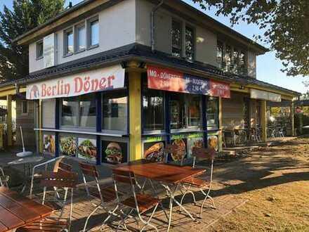 Restaurant mit Imbiss |Terrasse| 2 Etagen | Parkplätze - NACHFOLGER GESUCHT
