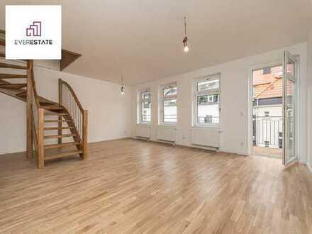 Provisionsfrei und frisch renoviert: Maisonette-Wohnung in attraktivem Altbau