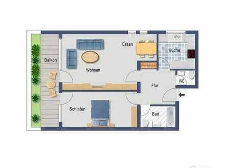 Sofort bezugsfähige 2,5 Zimmerwohnung in Tiengen