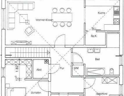 Erstbezug: schöne 3,5-Zimmer-Wohnung mit Garten in Winnweiler