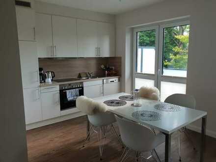 Neuwertige 2-Zimmer-Wohnung mit Balkon und Einbauküche in Lohe-Rickelshof