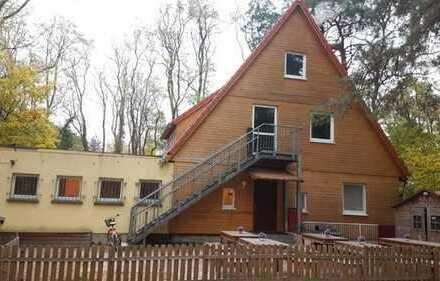 MAHLOW-BLANKENFELDE: Kinderkletterwald mit Einfamilienhaus, ca. 250m² und ca 6.000m² Waldgrundstück
