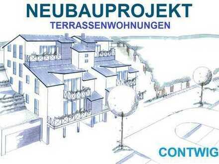 Altersgerechte Terrassenwohnung (124 m² Wfl.) Neubau 2018
