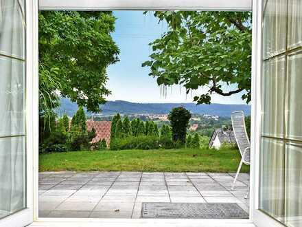 Großzügiges Anwesen in herrlicher AUSSICHTS-LAGE im Raum Backnang