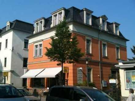 Außergewöhnlich geschnittene 2,5-Zi.-Wohnung in denkmalgeschütztem Mehrfamilienhaus in Radebeul-Ost