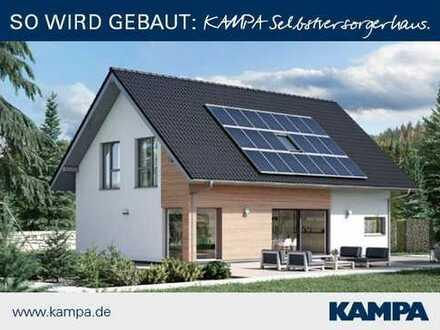 Bauen mit Kampa bedeutet minimale Energiekosten !
