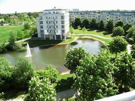 Maisonette mit Dachterrasse! Grüner und gepflegter Wohnpark mit See