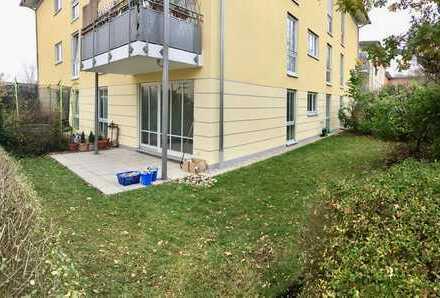 Exklusive, neuwertige 2-Zimmer-EG-Wohnung mit Gartem und EBK in Obermenzing, München