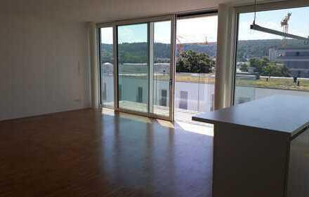 Exklusive 2-Zimmer-Wohnung in zentraler Lage am Neckar mit Süd-Balkon und EBK in Tübingen