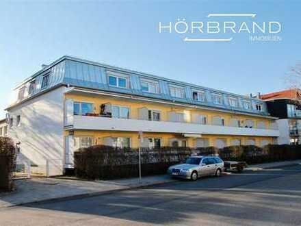 Großzügige 1-Zimmer-Wohnung mit Westbalkon