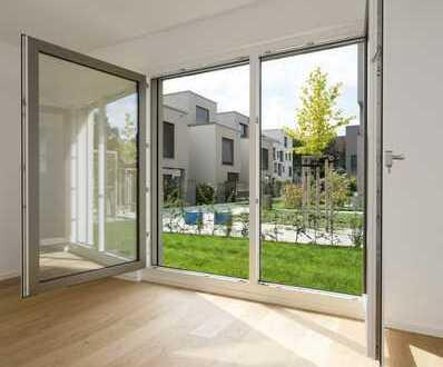 Urbanes Grün - gehobene 3-Zimmer-Wohnung mit Garten