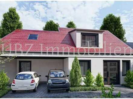***Neubau eines Einfamilienhauses in der Fußgängerzone von Schweinheim***