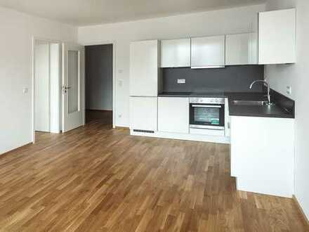 Bühne frei für modernes Wohnen! Komfortable 2-Raum-Wohnung mit Loggia in einzigartiger Lage