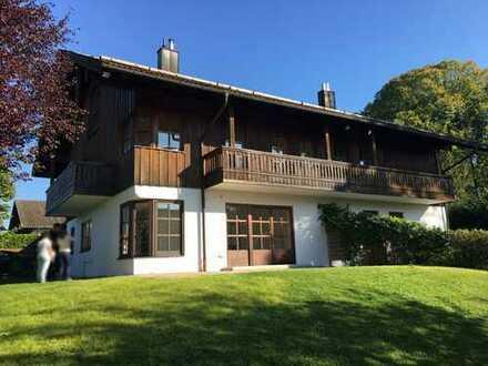 Großzügiges Landhaus mit Seeblick - zu Fuß zum Starnberger See