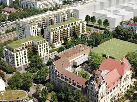 5-Zimmer-Penthouse Wohnung mit großzügigen Balkon- und Terrassenflächen