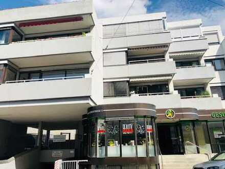 Renovierungsbedürftige 3-Zi.-Wohnung mit Westbalkon im Zentrum von Leimen