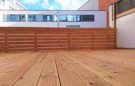 *Perfekte Lage mit Dachterrasse und Einbauküche*