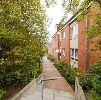 Renovierte 2-Zimmer Erdgeschosswohnung mit Balkon in Wettbergen, Aalborghof 5