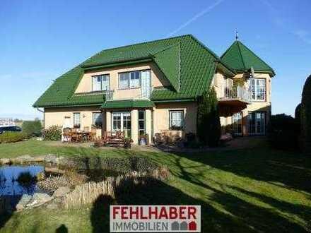 Blick auf Greifswalder Bodden - Großes Wohnhaus (1. Reihe) mit viel Ausstattung