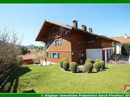 Ein Traum wird wahr - typisches Allgäuer Landhaus mit Bergsicht - Sie werden begeistert sein