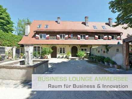 Toller Bürositz mit 65qm (auf Wunsch teilmöbliert) + 89 qm repräsentativer Business-Lounge-Area