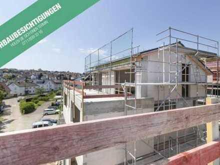 Tolle Doppelhaushälfte mit Dachterrasse in spitzer Lage - Jetzt Rohbau besichtigen