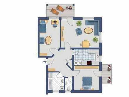 Ihr neues Zuhause! 3 Zimmer-Wohnung mit 2 Balkonen und Garage in Bopfingen