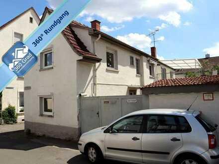 Ein- oder Zweifamilienhaus mit Hof und Garage in Feudenheim