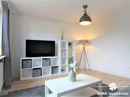 BERK Immobilien - Einziehen und Wohlfühlen - Vollmöblierte 2-Zimmer-Wohnung für Wochenendheimfahrer!