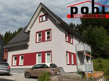 Idyllische Lage! 2014 komplett saniert!! 2-Zimmer Mietwohnung mit 55 m² Wfl. und Balkon!!