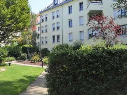 In den Quadraten - ca. 43 m² möblierte 1 ZKB Wohnung inkl. Stellplatz und Keller