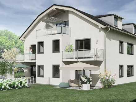 Gartenwohnung in idealer Lage von Waldperlch - 4-Zimmer-mit 2 Bädern
