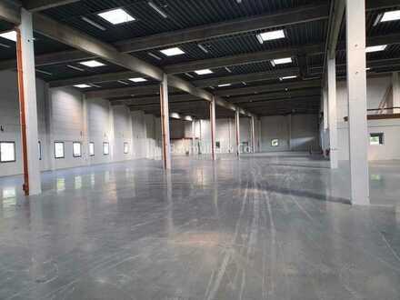 """BAUMÜLLER & CO."" ca. 2.000 qm ebenerdige Hallenfläche - Kran - Freifläche"