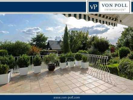 Stadtvilla mit Blick und lichten Räumen über drei Etagen im schönen Hirschberg