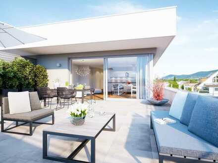 Exklusives Penthaus mit großer Dachterrasse und Panoramablick