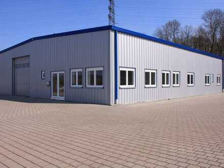 Gewerbehalle, ca. 350 qm, modernisiert, in Rastatt-Muggensturm, ab Mitte 2021 zu vermieten