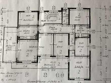 Gepflegte 5-Zimmer-Wohnung mit Balkon und EBK in Heidenrod OT