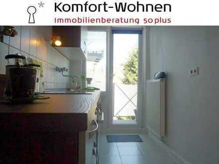 Ruhige Wohnung in guter Stadtpark-Lage! 2-Zimmer-Wohnung mit Wannenbad und Balkon