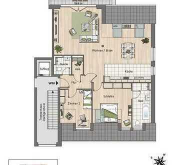 Traumhafte Dachgeschosswohnung mit großem Balkon!