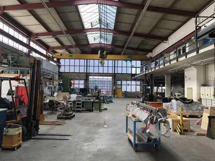 Ca. 1.000 m² Lagerfläche mit Kranbahn zu vermieten   kurzfristig verfügbar   7m UKB