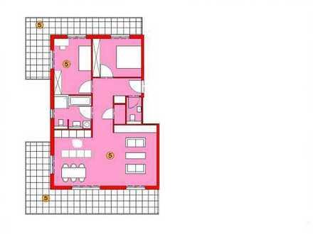 """Wohnen an der Brenz"" 3-Zimmer-Wohnung im 2. Obergeschoss"