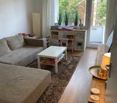 Möblierte, wunderschöne, helle 3-Zimmer Wohnung im Herzen von Braunsfeld