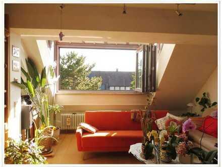 Aussicht und Ruhe in Ihrer 2,5-Zimmer Maisonette