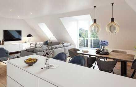 Ketteler GÄRTEN - Außergewönliche 4-Zimmerwohnung im DG mit unverbaubarem Blick