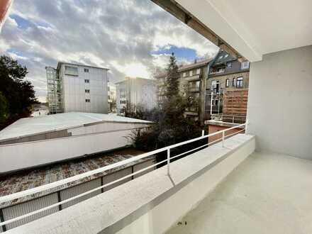 Neuostheim: Geschmackvolle Wohnung mit eineinhalb Zimmern mit Altbaucharme