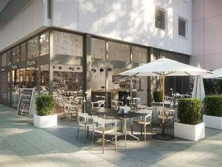Terrassen-Gastronomiefläche in der Ludwigstraße!
