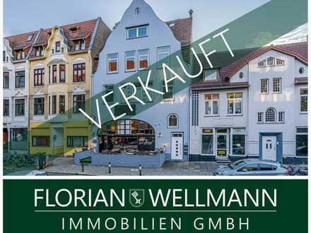 Bremen - Findorff | Sanierte, modern und geschmackvoll gestaltete 3-Zimmer-Altbau-Wohnung mit Südwes