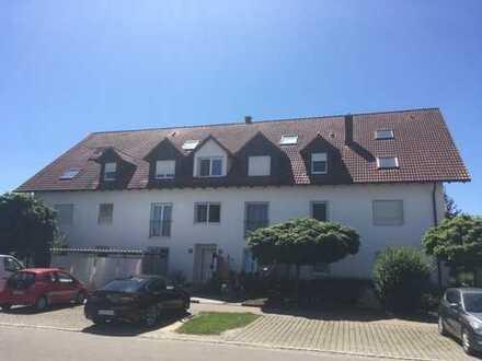 2 Zimmer Wohnung in Dillingen-Hausen inkl. Aufzug, Terrasse, Tiefgaragenstellplatz und Kellerraum