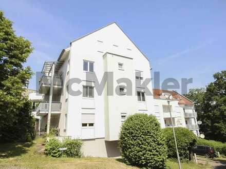 Bezugsfrei ab 01.09.2021: Gepflegte ETW mit schönem Balkon u. TG-Platz in grüner Lage von Wertheim