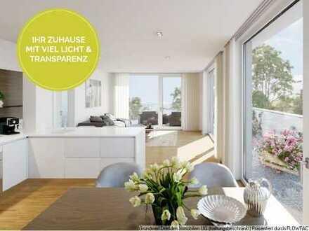WOHNEN Sie im Hechtviertel! Stillvolle Wohnung mit Balkon!